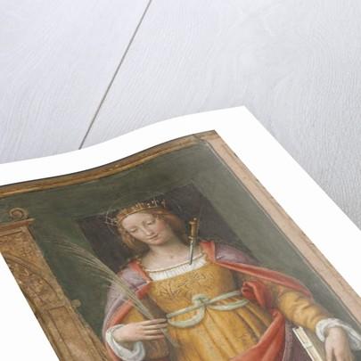 Saint Justina by Bernardino Luini