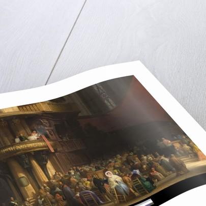Interior of Milan Cathedral, Italy, 1840 by Luigi Bisi