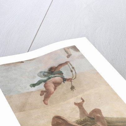 The Fall of the Demons, Stories of Scipio, detail, 1731 by Giovanni Battista Tiepolo