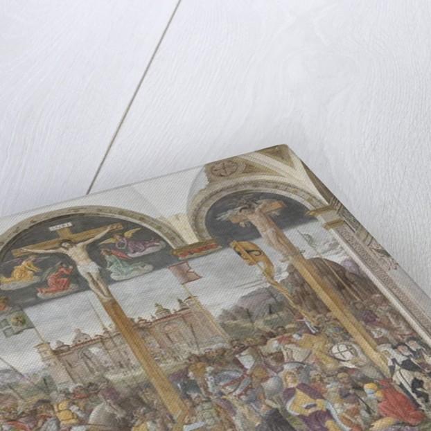 Crucifixion, 1495 by Giovanni Donato Montorfano