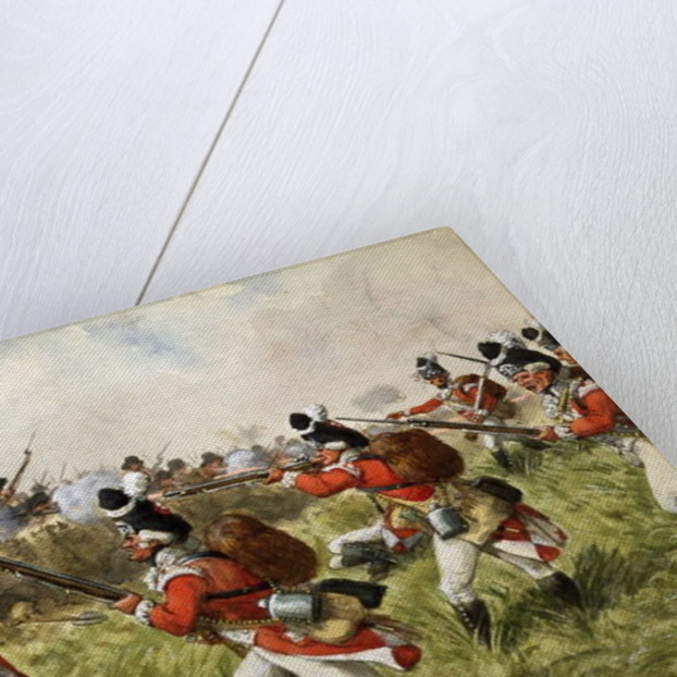 Bunker's Hill, 1775, c.1900 by Richard Simkin