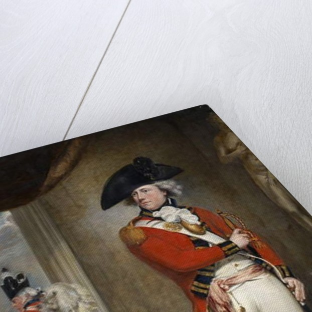 Captain John Clayton Cowell, 1st Battalion, 1st Regiment of Foot, c.1796 by William Beechey