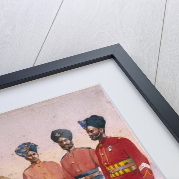 Soldiers of the Rajput Regiment by Alfred Crowdy Lovett