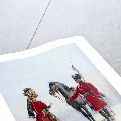 Alwar Lancers, Commandment and Chohan Rajput by Alfred Crowdy Lovett