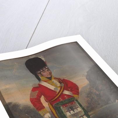 Sergeant, 92nd Highlanders, 1816 circa by Unknown Artist