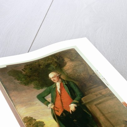 Portrait of Sir Harbord Harbord. Bt. Mp., 1783 by Thomas Gainsborough