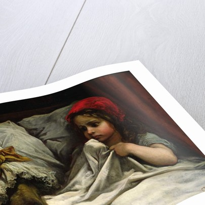 Little Red Riding Hood, c.1862 by Gustave Dore