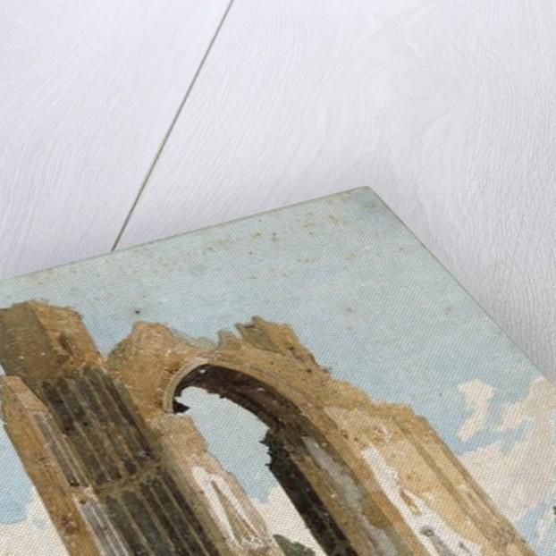 Ruins of Walsingham Priory, Norfolk, 1807-08 by John Sell Cotman