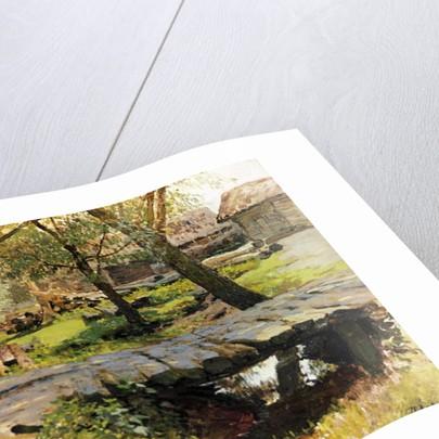 A Bridge in Savvinskaya Sloboda by Isaak Ilyich Levitan