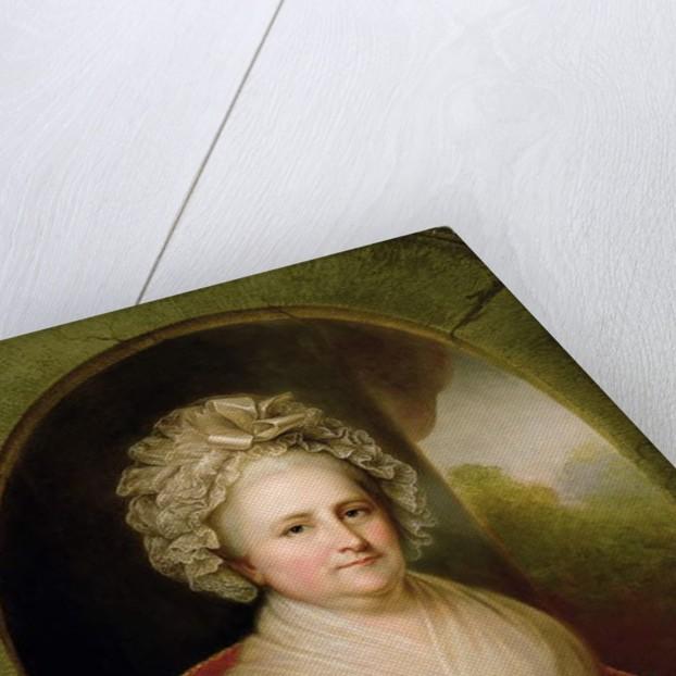 Portrait of Martha Washington by Rembrandt Peale