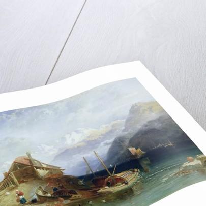 Lake Thun, 1852 by Harry John Johnson