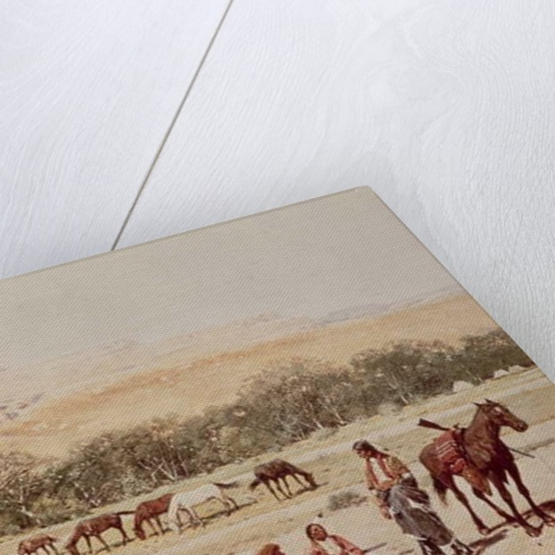 Indian Encampment, Denver, Colorado by Henry Francois Farny