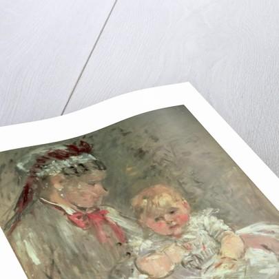 Julie Manet and her Nurse, 1888 by Berthe Morisot