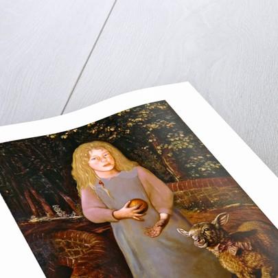 Miss Flamborough by William Holman Hunt