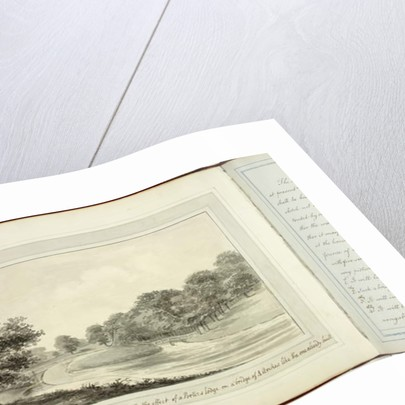 Red Book: Welbeck, 1793 by Humphry Repton