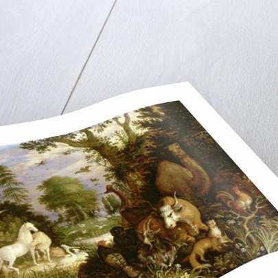 The Garden of Eden by Roelandt Jacobsz. Savery