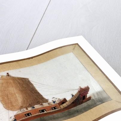 Chinese junk of the Great Zheng He or Hajji Mahmud, Chinese eunuch and marine explorer by Anonymous