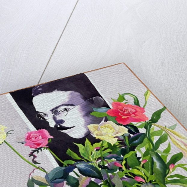 Fernando Pessoa, Roses and Lilies by Christopher Ryland