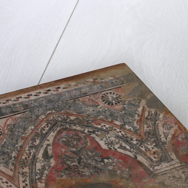 Fragment from a mural by School Italian