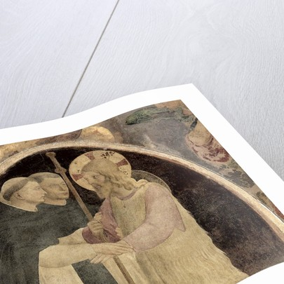 Christ Welcomes Two Dominican Friars by Fra Angelico