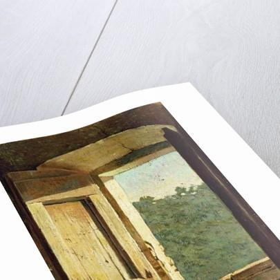 The Window by Giuseppe Abbati