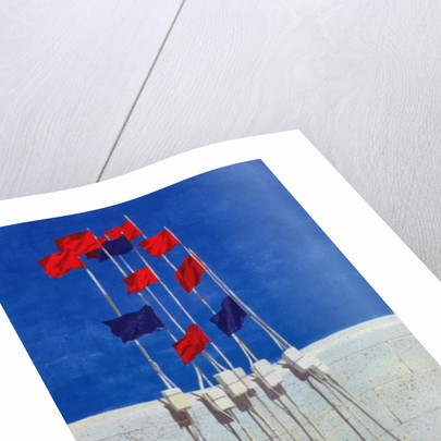 Lobster Buoys by Lincoln Seligman