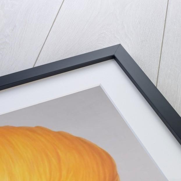 Big Saffron Turban by Lincoln Seligman
