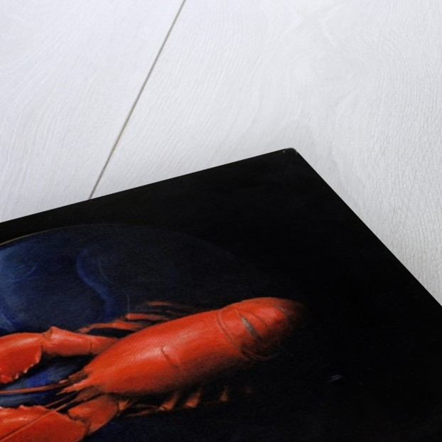 Lobster on Tiffany Plate by Lincoln Seligman