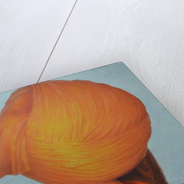 Saffron Turban by Lincoln Seligman