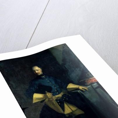 Portrait of King Karl XII by David von Krafft
