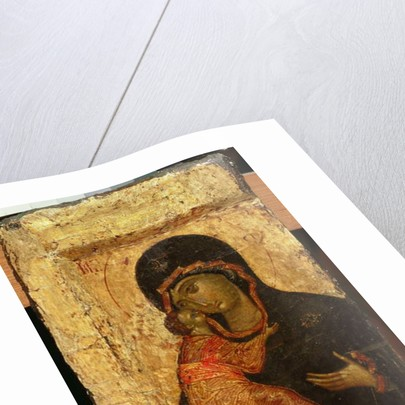 The Vladimir Madonna and Child, Russian icon, Moscow School by Andrei Rublev