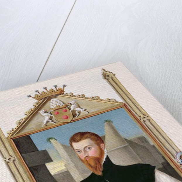 Portrait of Edward Courtenay Last Earl of Devonshire by Sarah Countess of Essex