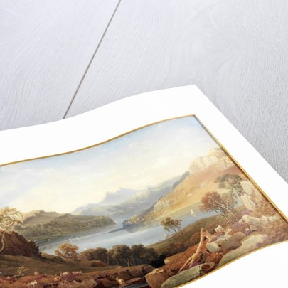 A Loch in Argyll by George Fennel Robson