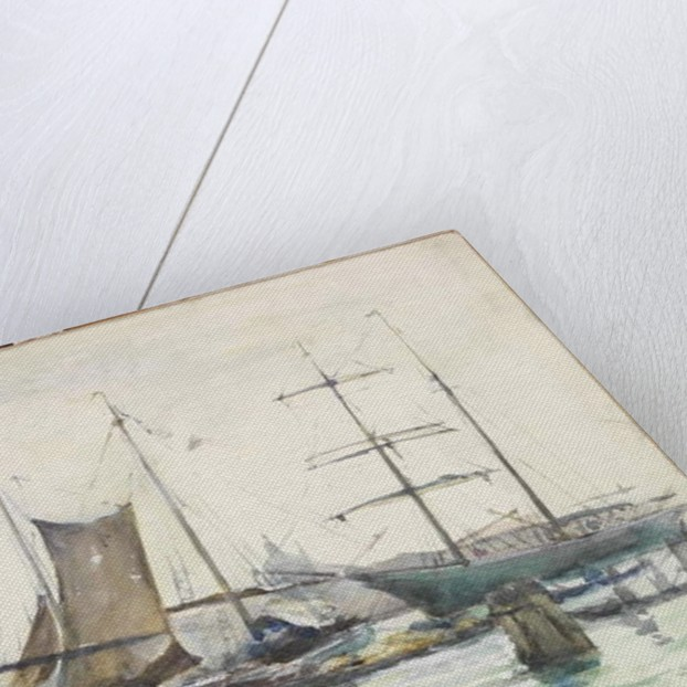 Shipping in the Bacino, Venice by Emily Murray Paterson