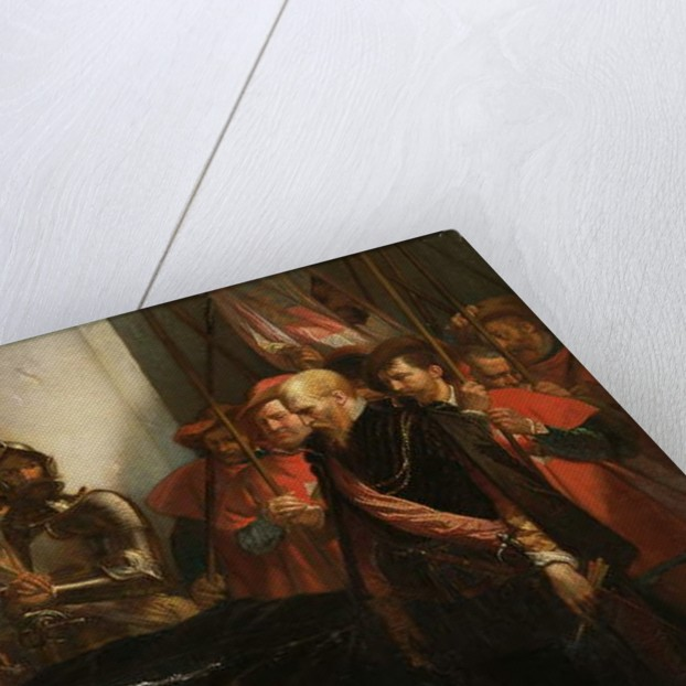 The Last Honours to Counts Egmont and Hoorn, 1859 by Louis Gallait