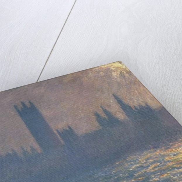 Houses of Parliament, Effect of Sunlight, 1903 by Claude Monet