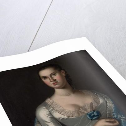 Mrs. Elizabeth Smith, 1762 by John Hesselius
