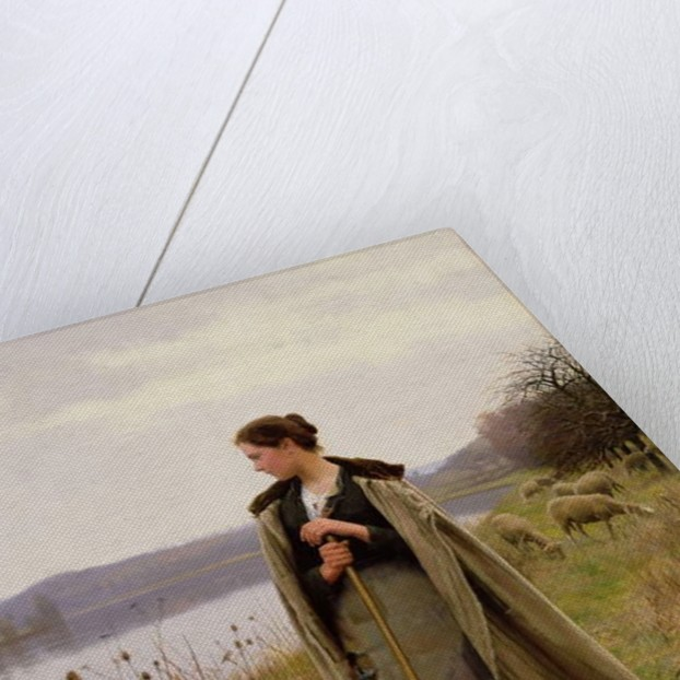 The Shepherdess, 1896 by Daniel Ridgway Knight