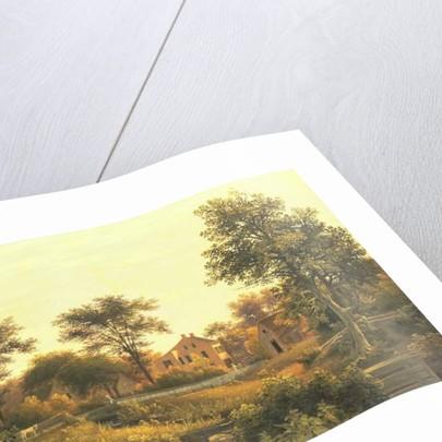 New England Homestead, 1839 by Samuel Lancaster Gerry