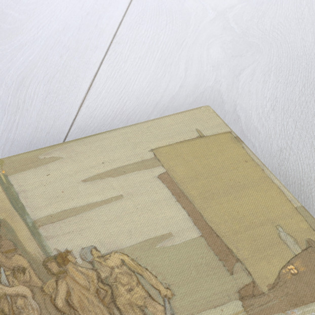 The Landing of St Patrick in Irelan by Frederick Cayley Robinson