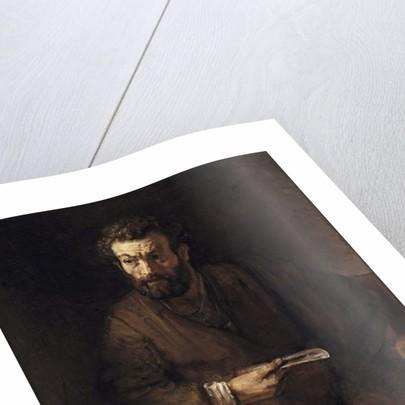 St. Bartholomew, 1657 by Rembrandt Harmensz. van Rijn