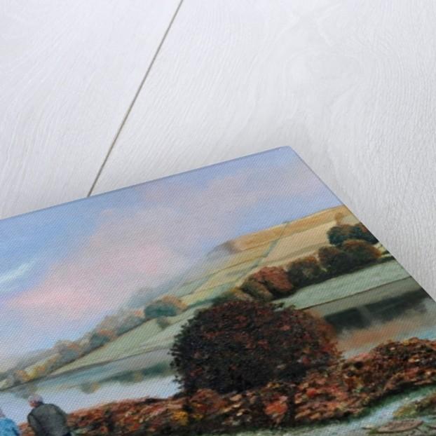 Ladybower Reservoir, Derbyshire, 2009 by Trevor Neal