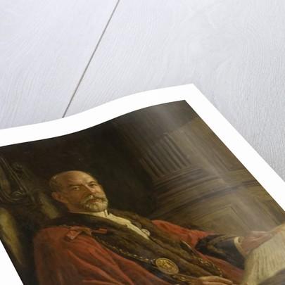 Portrait of Alderman Robert Readhead by Frank Stanley Ogilvie