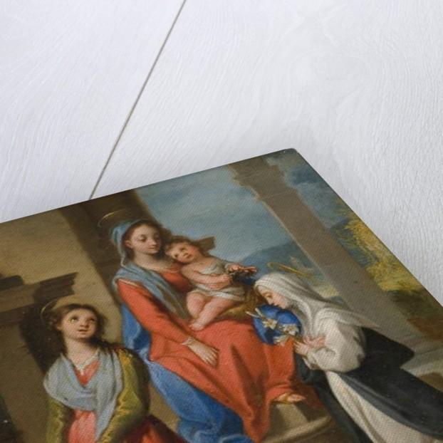The Madonna and Child with Saints by Ventura di Arcangelo Salimbeni