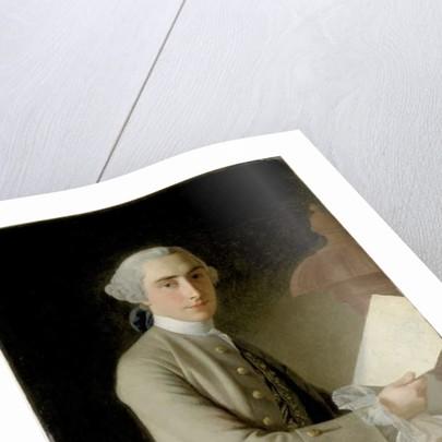 Portrait of James Adam, 1754 by Allan Ramsay
