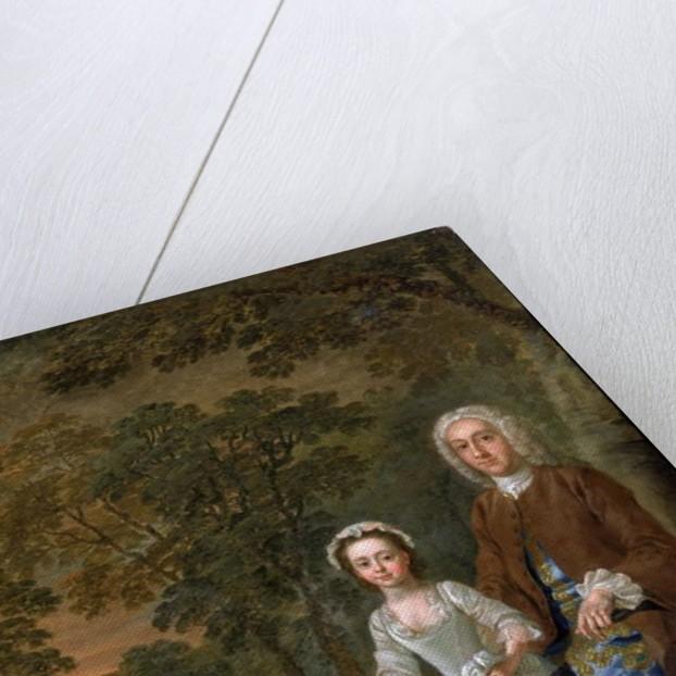 William Ellis and his daughter Elizabeth, c.1745 by Francis Hayman
