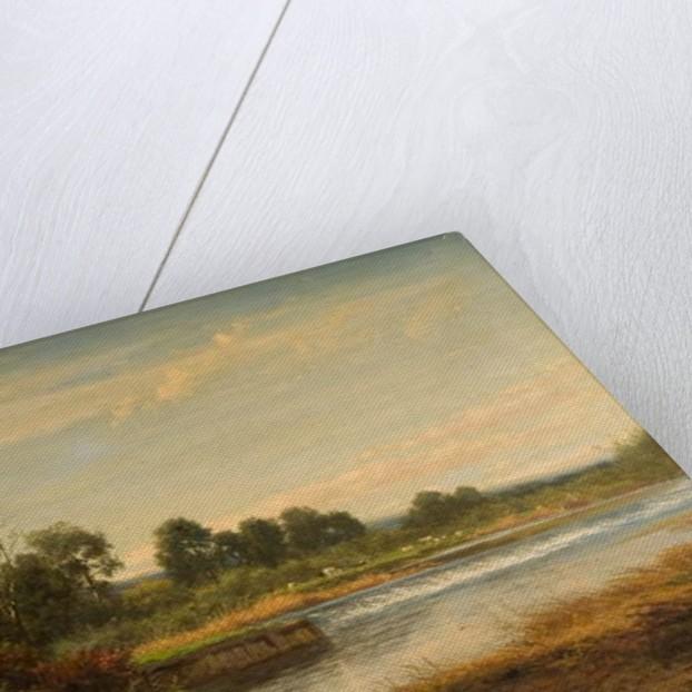 Goring on Thames, 1873 by Benjamin Williams Leader