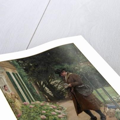 The Village Postman by Walter Dendy Sadler