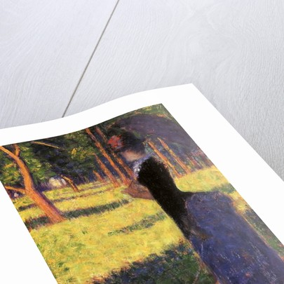 Study for La Grande Jatte: Woman with a Monkey, 1884 by Georges Pierre Seurat