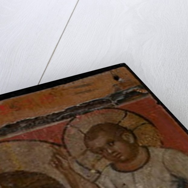 Archangel Michael, mid-1300s by Paolo Veneziano